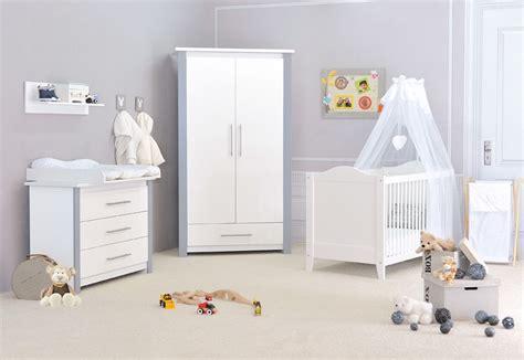 chambre de bébé pas chere chambre bébé pas chère cocoon design blanche et grise