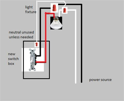 wiring up a light switch electrical how do i connect a light to a switch when the