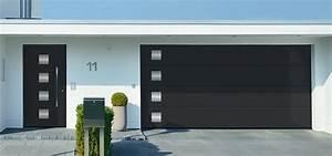Hormann ksm completent leur gamme de portes de garage for Porte de garage sectionnelle avec blinder une porte