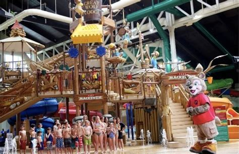 great wolf s new indoor water park opens near