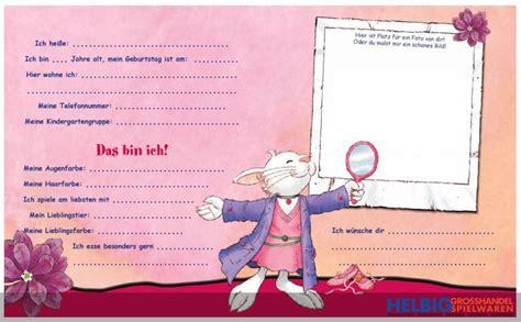 kindergarten freundebuch quot leo lausemaus quot 049655