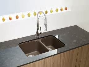 Home Depot Canada Undermount Kitchen Sinks blanco silgranit natural granite composite undermount