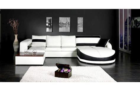 canape convertible noir et blanc canape noir et blanc pas cher 28 images photos canap