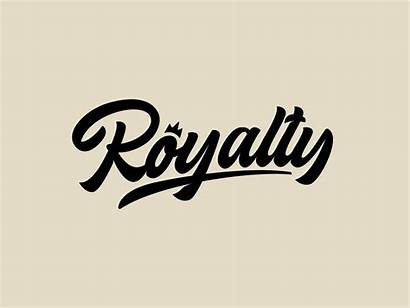 Royalty Brand Clothing Dribbble Font Script Typography