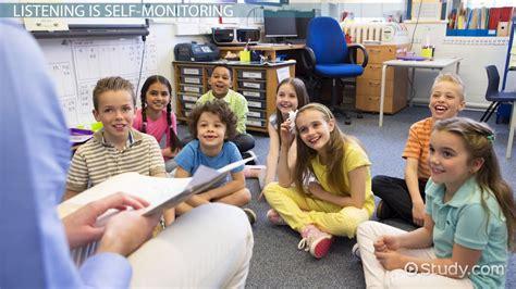 teaching listening skills to children lesson