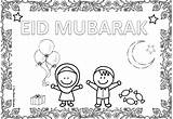 Eid Coloring Colouring Sheets Fitr Ul Mum Childrens Educates sketch template
