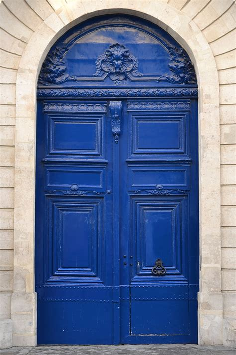 Colourful Door by History In High Heels Where To Find The Best Parisian Doors