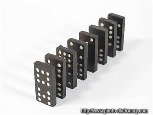 domino - photo/picture definition at Photo Dictionary