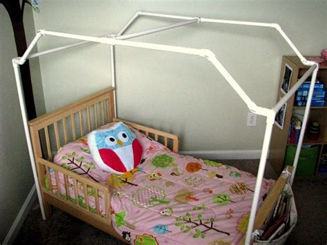 how to make a canopy with pvc pipe pvc framed canopy bed gluesticks