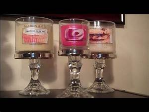 22 best repurposed bath and body works candle jars images With kitchen cabinets lowes with 3 wick candle holders