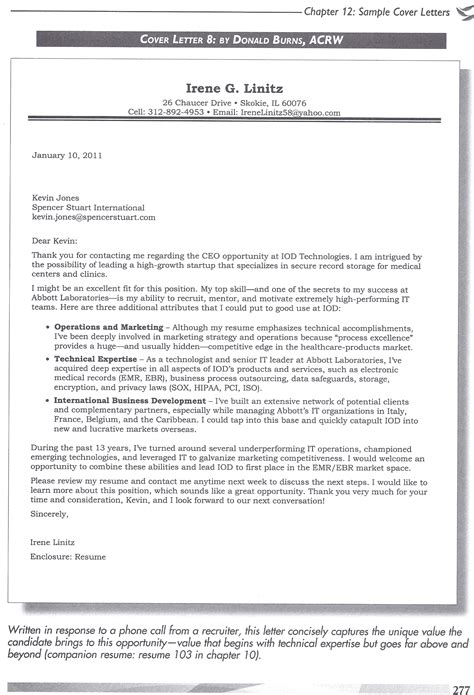 Total Resume Blueprint by Engineering Resume Cover Letter Careerdefense
