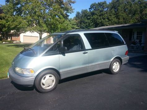 manual repair autos 1993 toyota previa instrument cluster sell used 1993 toyota previa le mini passenger van 3 door 2 4l in pickerington ohio united