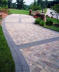 interesting patio design ideas using pavers Paver Banding - Design Ideas for Pavers | Landscape | Pinterest | Patios, Driveways and Backyard