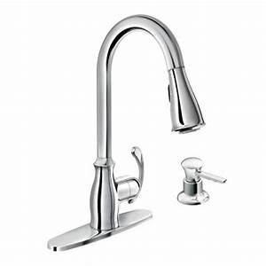 Moen Kitchen Faucet Handle Installation