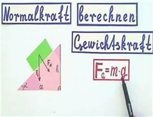 Normalkraft Berechnen : video normalkraft berechnen so verstehen sie die formel ~ Themetempest.com Abrechnung