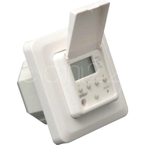 lichtschalter mit zeitschaltuhr unterputz zeitschaltuhr als digitaler lichtschalter ebay