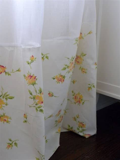 5 ways to use vintage sheets shower curtains