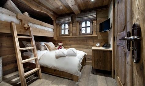 deco chambre montagne décoration intérieur chalet montagne 50 idées inspirantes