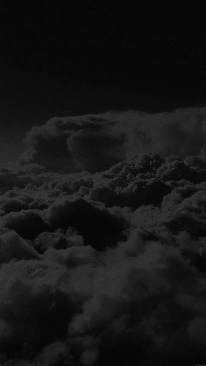 Iphone Dark Cloud Wallpapers Sky Clouds Papers