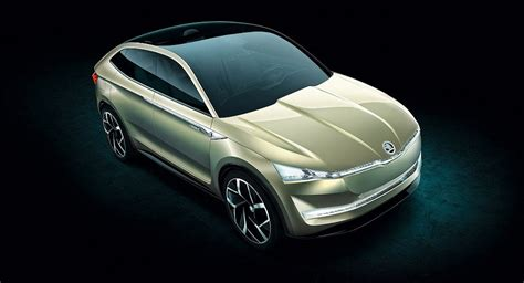 Skoda Vision E Coupe Crossover Concept This Ιs Ιt