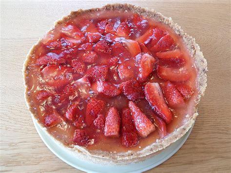 Erdbeer  Quark  Kuchen (rezept Mit Bild) Von Traumflocke
