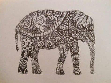 images  indian elephant tattoo  pinterest