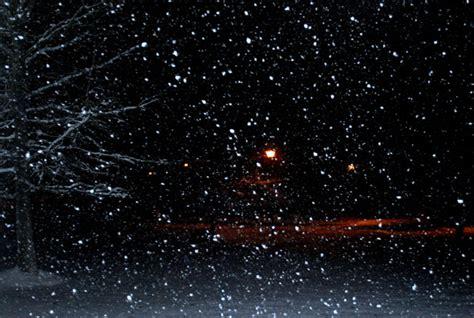 night snow  stock photo public domain pictures