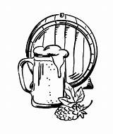 Beer Barrel Mug Coloring Pages Drawing Getdrawings Mugs Place Paint Sip Tocolor sketch template