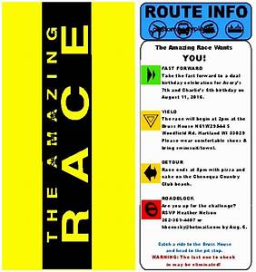 9 amazing race envelope template atppe templatesz234 With the amazing race clue template