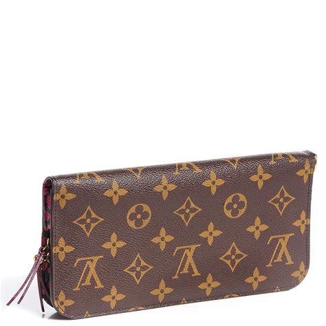 louis vuitton monogram leopard insolite wallet rouge fauviste