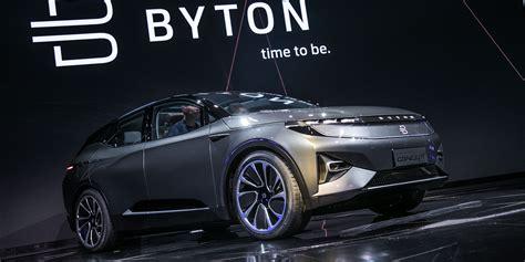 presentan byton concept suv completamente electrico