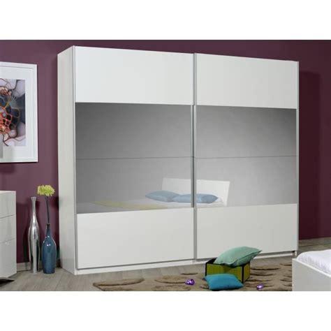 meuble rangement bureau pas cher optimus maxi armoire dressing 260 cm blanc achat vente