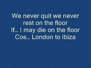 pitbull get on the floor lyrics With get off the floor lyrics