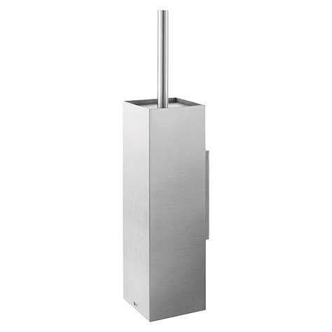 wc bürstenhalter edelstahl zack xero wc b 252 rstengarnitur edelstahl matt wandmontage wc b 252 rstengarnituren