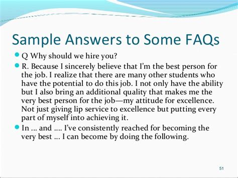 Why Should We Hire You Answers by Interviews