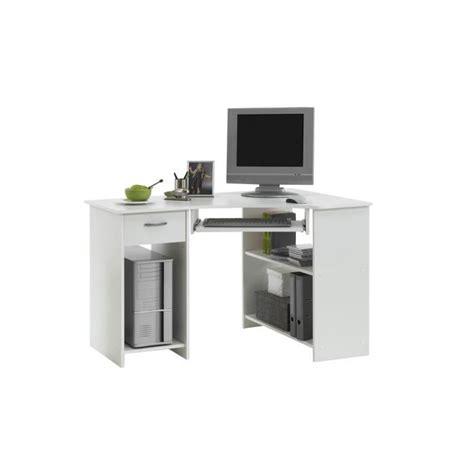plan bureau d angle felix bureau d 39 angle 77 cm blanc achat vente bureau