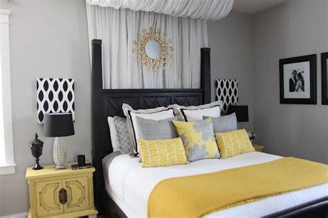5316 grey and yellow bedroom decor quartos em tons de cinza made decor