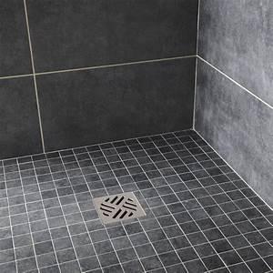 Carrelage De Douche : carrelage douche sol noir ~ Edinachiropracticcenter.com Idées de Décoration