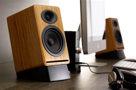Bookshelf Speaker Setup - audioengine p4 premium passive bookshelf speakers w ds2