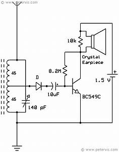 One Transistor Radio Circuit Diagram In 2019