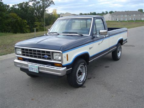 how can i learn about cars 1985 ford ranger lane departure warning ford ranger standard pick up cab 1985 midnight blue metalic and wimbeldon white for sale