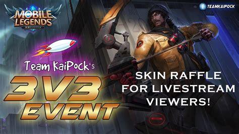 Team Kaipock's Mobile Legends 3v3 Event