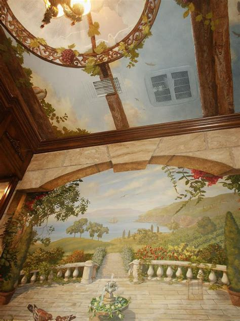 279 Best Faux Painting And Murals Images On Pinterest
