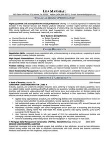 resume exle insurance underwriter resume sle senior