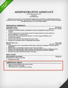 resume skills section  skills   resume