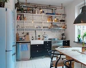 Kleine Küchen Einrichten : offene wohnk che einrichten ~ Indierocktalk.com Haus und Dekorationen