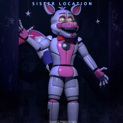 Funtime Foxy By Gamesproduction On Deviantart