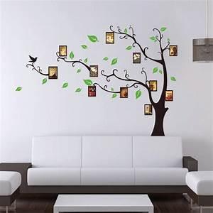 Stickers Arbre Photo : sticker arbre porte cadres ~ Teatrodelosmanantiales.com Idées de Décoration