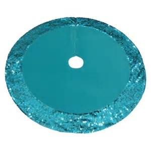 bright aqua sequins tree skirt 25 christmas new years pintere
