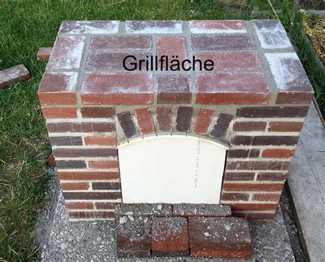 Grill Mauern Mit Ziegelsteinen by Grill Selber Mauern